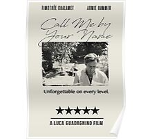 Call Me By Your Name Posters By Filmandstuff Redbubble