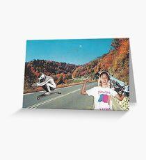 Skater kids Greeting Card