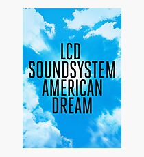 LCD Soundsystem - American Dream Photographic Print