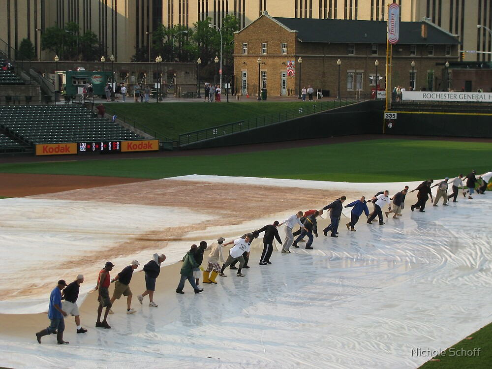 After the Rain...PLAY BALL! by Nichole Schoff