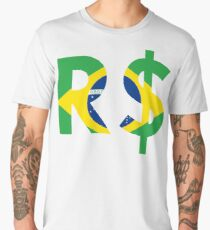 Brazilian Real  Men's Premium T-Shirt