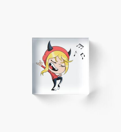 Rock Out with Dottie! Acrylic Block