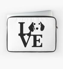 Dachshund Dog Love Laptop Sleeve
