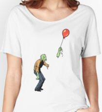 Sad Zombie  Women's Relaxed Fit T-Shirt