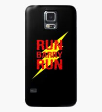 Run Barry run Case/Skin for Samsung Galaxy