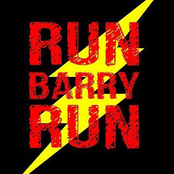 Run Barry run by criarte