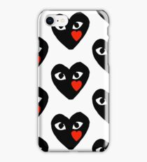 Comme des garcons merch iPhone Case/Skin