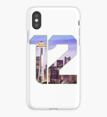 12th Man iPhone Case/Skin