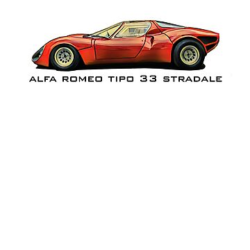Alfa Romeo Tipo 33 Stradale by aussie105