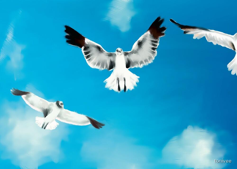 Flying Animals by tonivee