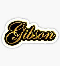 Vintage Gibson Gold  Sticker