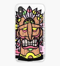 Illality Tiki God iPhone Case/Skin
