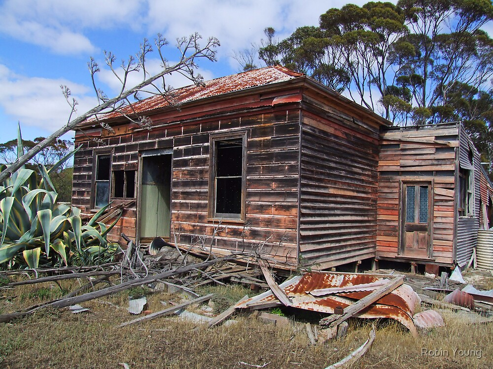 Disappearing at The Mallee by Robin Young