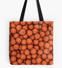 Basketballs Tote Bag
