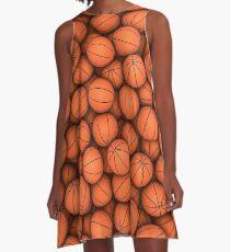Basketballs A-Line Dress
