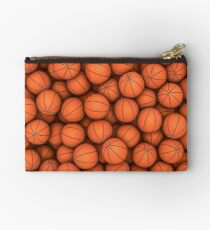 Basketballs Studio Pouch