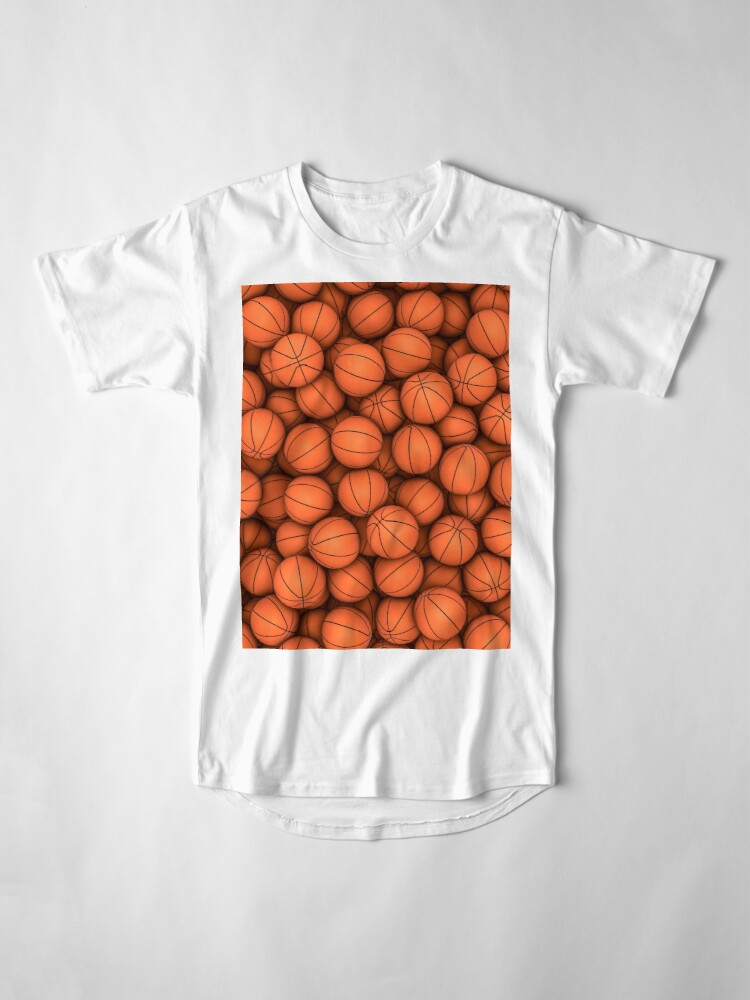 Alternate view of Basketballs Long T-Shirt