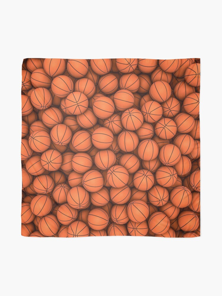 Alternate view of Basketballs Scarf
