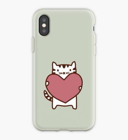 Cat's Heart iPhone Case