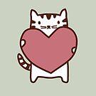 Cat's Heart by whatsandramakes