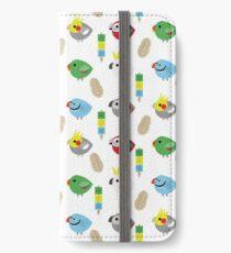 BIRBS - Medium & BIG Parrots! iPhone Wallet