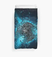 Disco planet explosion Duvet Cover