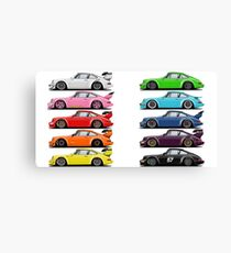 rainbow RWB Canvas Print