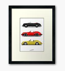 Speedsters Framed Print