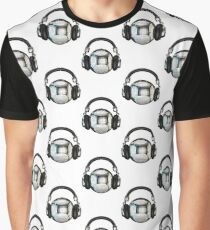 Headphone disco ball Graphic T-Shirt