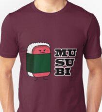 Happy Hawaiian Musubi Spam Sushi Nori Seaweed Slim Fit T-Shirt