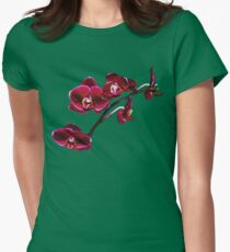 Orchids #8 Womens Fitted T-Shirt