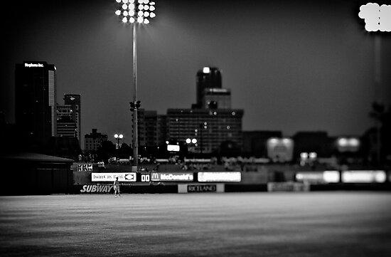 Outfielder by Scott Ward