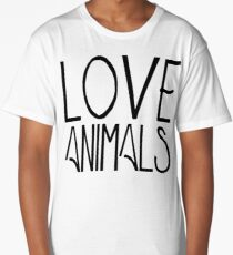 Love Animals | Animal Rights Long T-Shirt