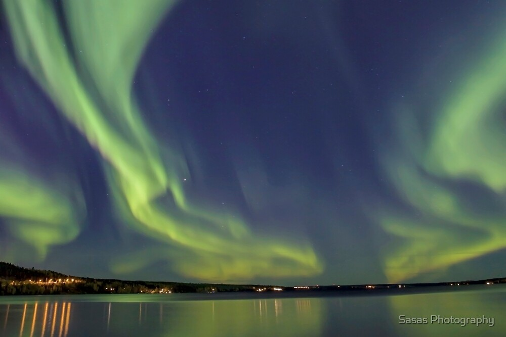 Northern Light in north Scandinavia by IB Photography