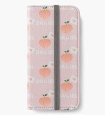 Vinilo o funda para iPhone ¡Vamos a peachy! Versión 1 de Kang Daniel (rosa)