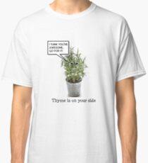 funny, motivational herb pun Classic T-Shirt