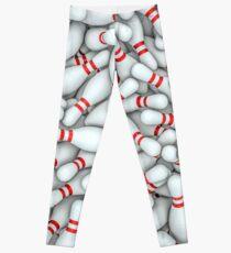 Bowling pins Leggings