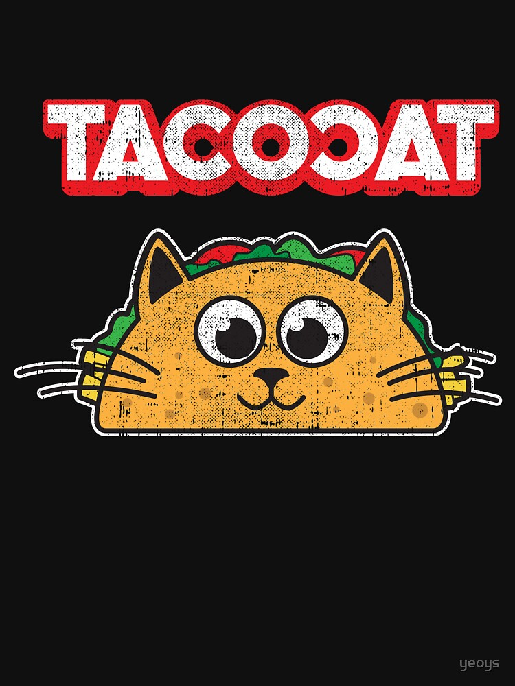 Tacocat Spelled backwards is Tacocat > Funny Taco & Cat von yeoys