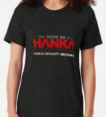 Ghost In The Shell - Hanka Robotics Tri-blend T-Shirt