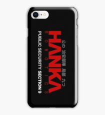 Ghost In The Shell - Hanka Robotics iPhone Case/Skin