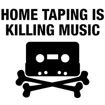 La grabación casera está matando la música - impresión de la réplica del cassette del hip hop de TheJBeez