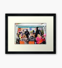 Community spirit Framed Print