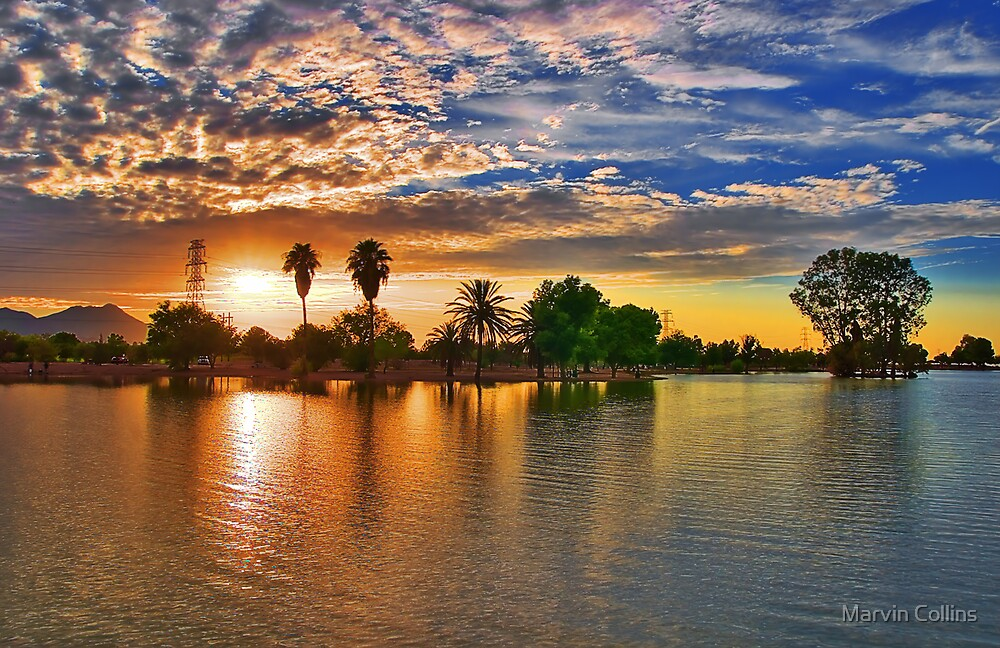 Sundown by Marvin Collins
