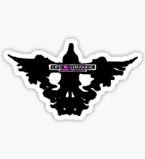 Dead Crow Logo - Before the Storm - Life is Strange 1.5 Sticker