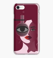 Woman of Science  iPhone Case/Skin