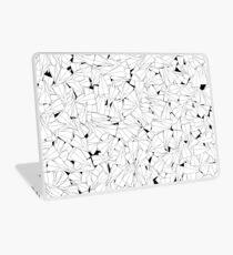 Paper planes B&W Laptop Skin