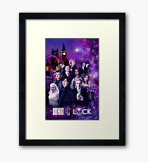 WhoLock Framed Print