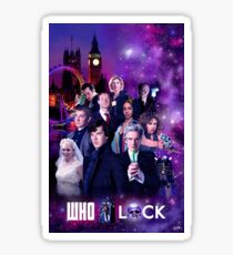 WhoLock Sticker