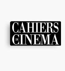 Cahiers du cinéma Canvas Print