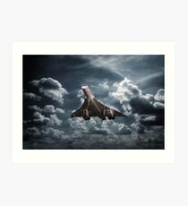 Concorde Approaches Art Print
